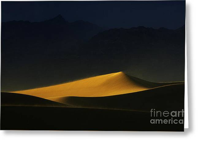 Death Valley California Symphony Of Light 2 Greeting Card