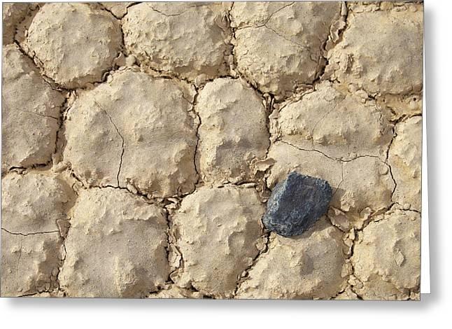 Death Valley Mud Greeting Card