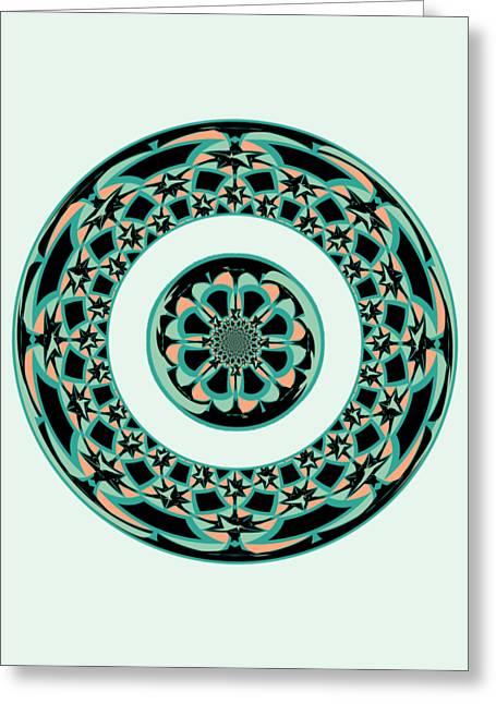 Decorative Art Greeting Card by Gaspar Avila