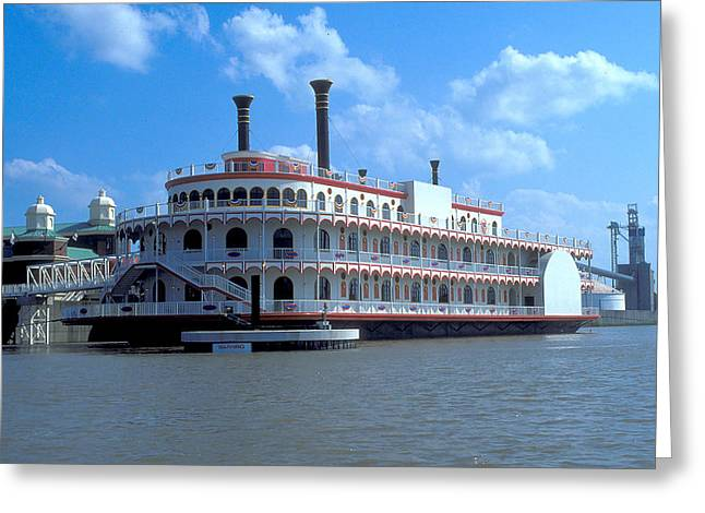 Delta Queen In New Orleans Greeting Card
