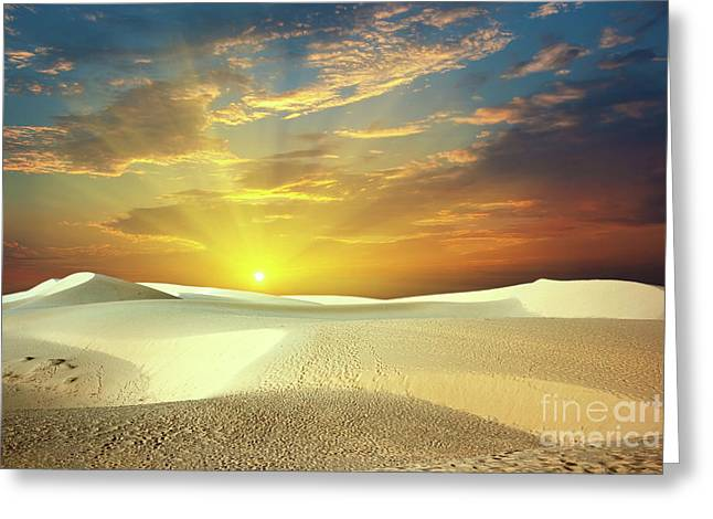 Desert Greeting Card by MotHaiBaPhoto Prints