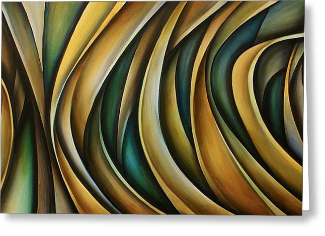 Design 1 Greeting Card by Michael Lang