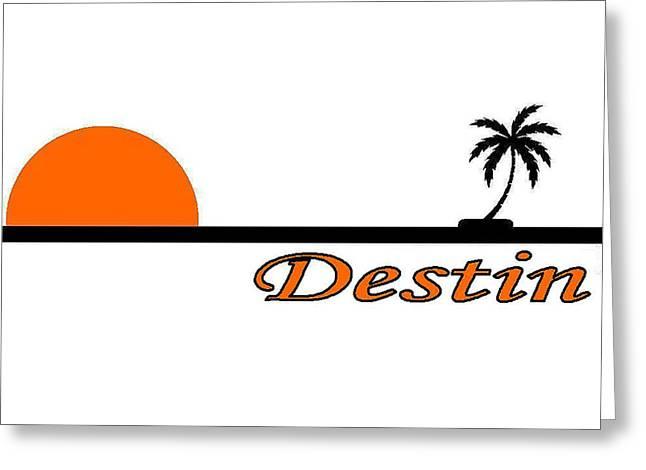 Destin Florida Greeting Card