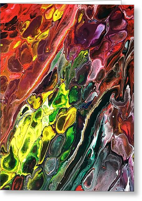 Detail Of Auto Body Paint Technician 2 Greeting Card