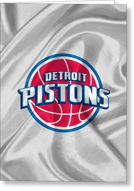 Detroit Pistons Greeting Card