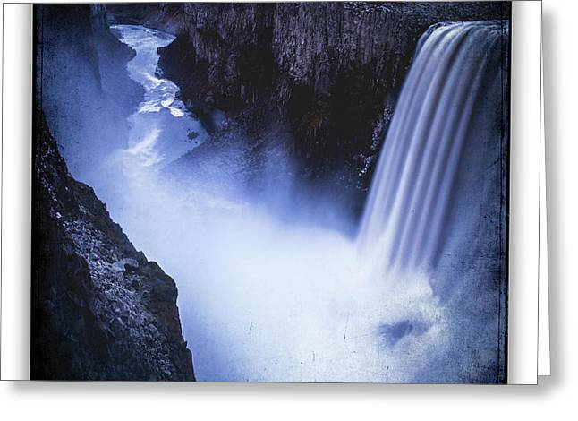 Dettifoss Greeting Card by Ingrid Smith-Johnsen