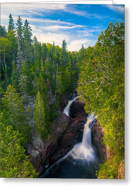 Devil's Kettle  Greeting Card