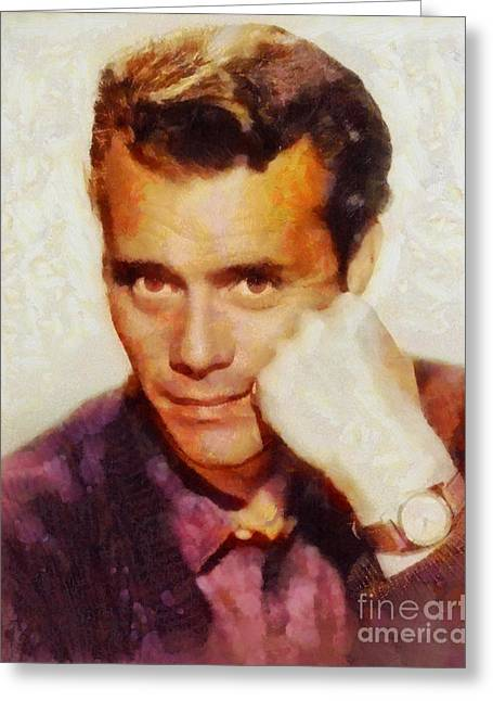 Dirk Bogarde, Vintage Actor Greeting Card