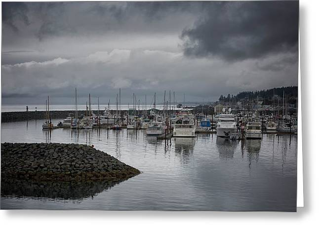 Discovery Harbour Greeting Card by Randy Hall