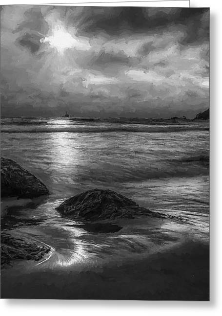 Distant Lighthouse  II Greeting Card