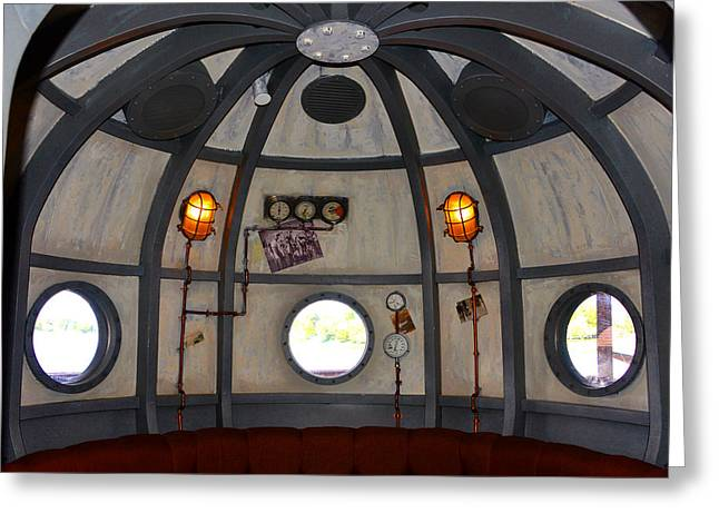 Diving Bell Lounge Hb Greeting Card