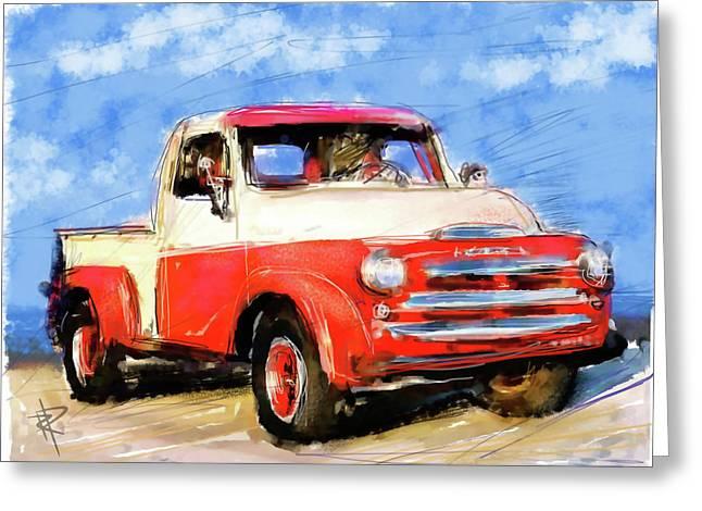 Dodge Truck Greeting Card