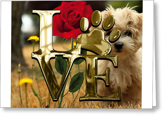 Dog Lover Collection  Greeting Card