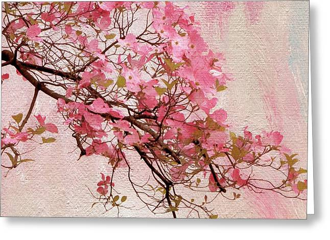 Dogwood Blossom Greeting Card by Jessica Jenney