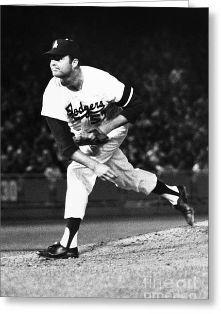 Don Drysdale (1936-1993) Greeting Card