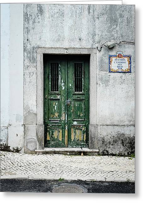 Door No 2 Greeting Card by Marco Oliveira