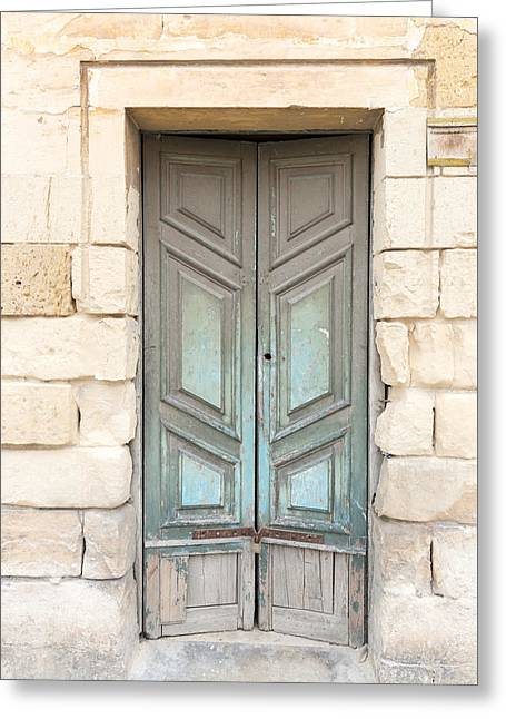 Doors Of The World 87 Greeting Card