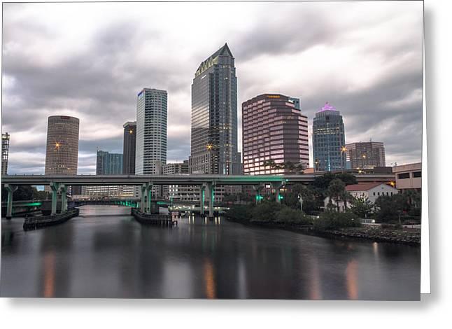 Downtown Tampa Greeting Card