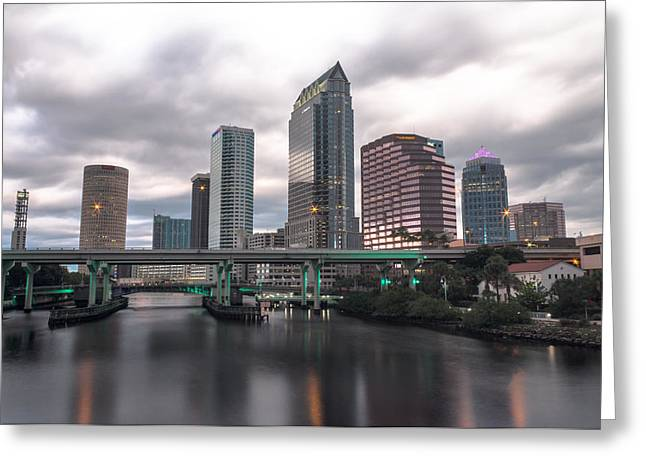 Downtown Tampa Greeting Card