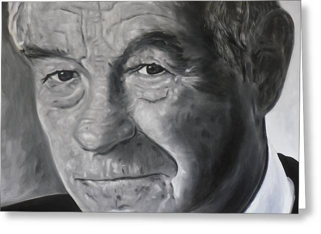 Dr. Ron Paul Greeting Card