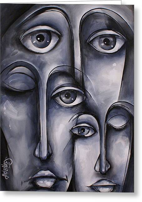 Dreamers Greeting Card by Michael Lang