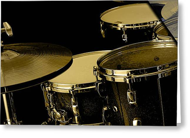 Drums Collection Greeting Card