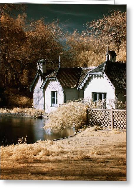 Duck Island Cottage Greeting Card