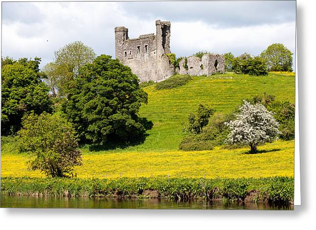 Dunmoe Castle Greeting Card