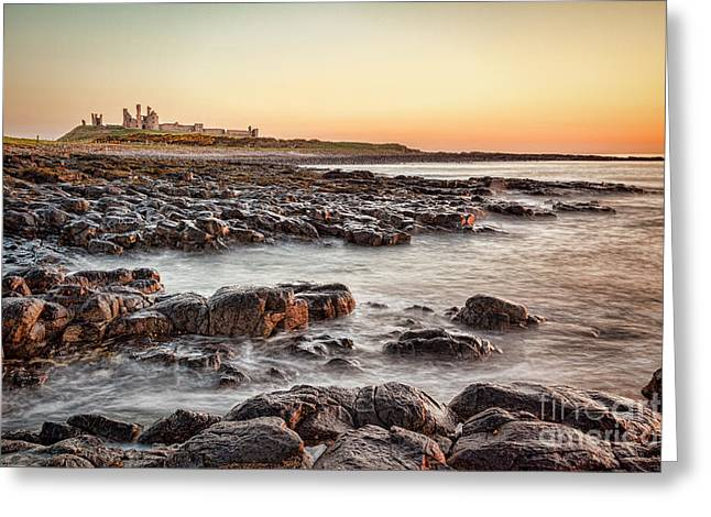 Dunstanburgh Castle, Northumberland Greeting Card