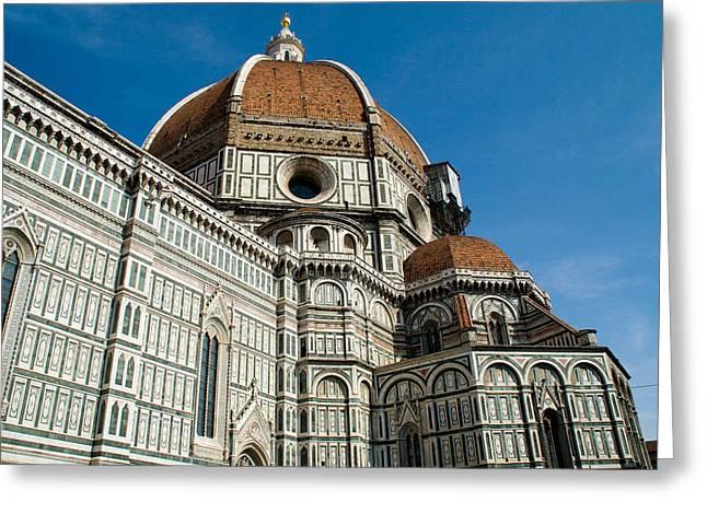 Duomo -  Florence Italy Greeting Card by Carl Jackson