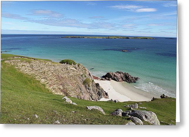 Greeting Card featuring the photograph Durness - Scotland by Pat Speirs