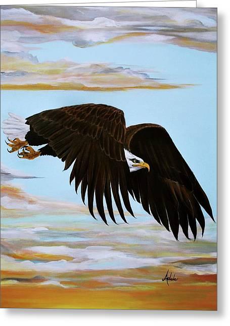 Eagle Stealth Greeting Card