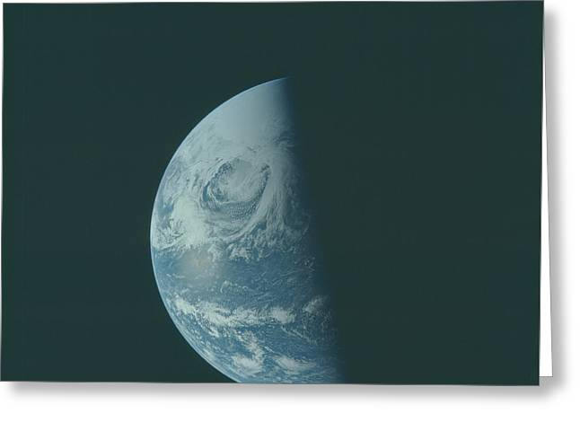 Earth The Blue Marble  Greeting Card