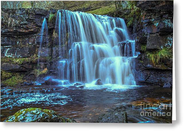 East Gill Force Greeting Card