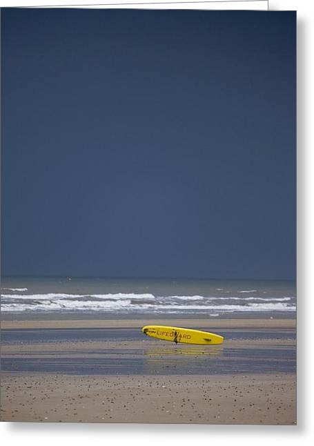 East Riding, Yorkshire, England Surf Greeting Card