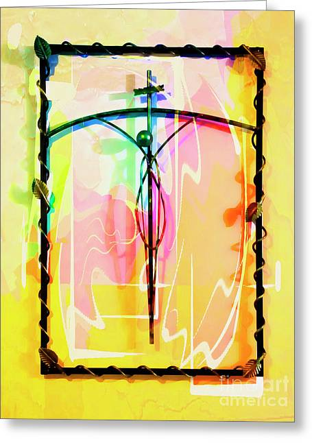 Easter Remembrance Greeting Card by Al Bourassa