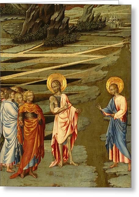 Ecce Agnus Dei Greeting Card by Giovanni di Paolo