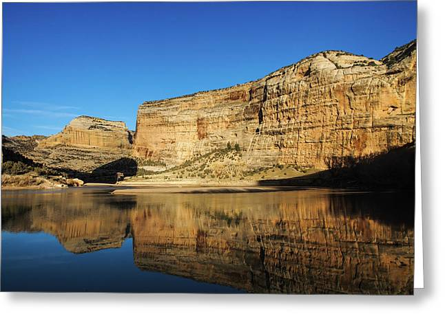 Greeting Card featuring the photograph Echo Park In Dinosaur National Monument by Nadja Rider