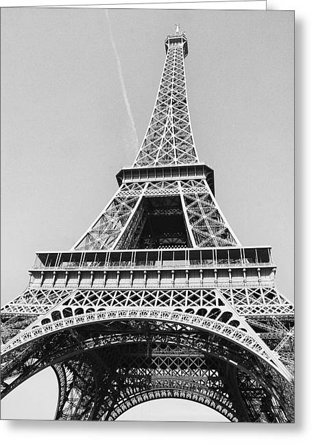 Eiffel Tower Greeting Card by Diana Haronis