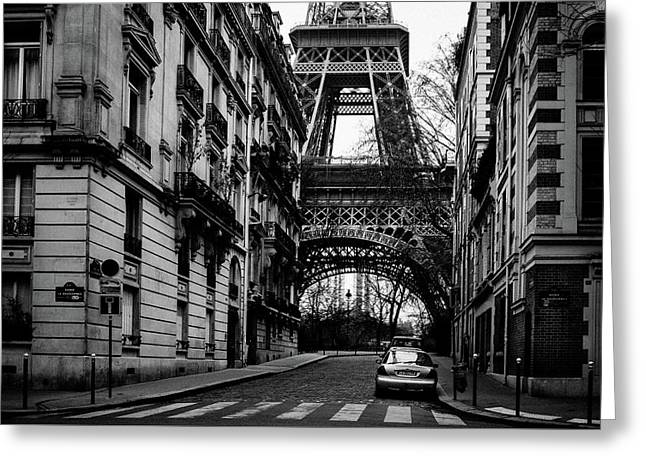Only In Paris Greeting Card