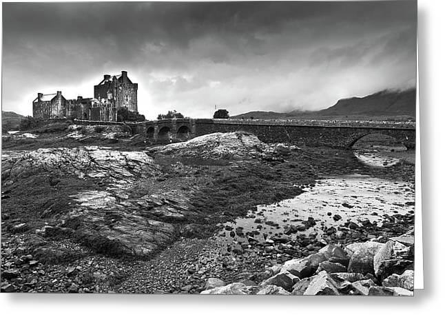 Greeting Card featuring the photograph Eilean Donan Castle In The Highlands Of Scotland by Michalakis Ppalis