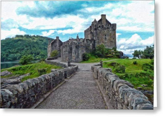 Eilean Donan Castle - -sct665549 Greeting Card