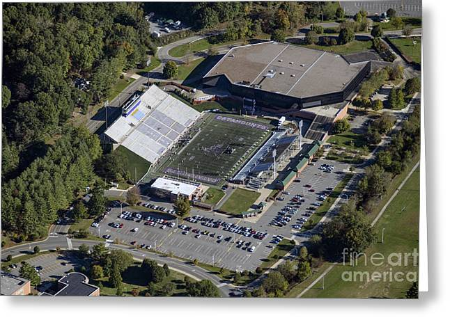 E.j. Whitmire Stadium And Ramsey Center At Wcu Greeting Card