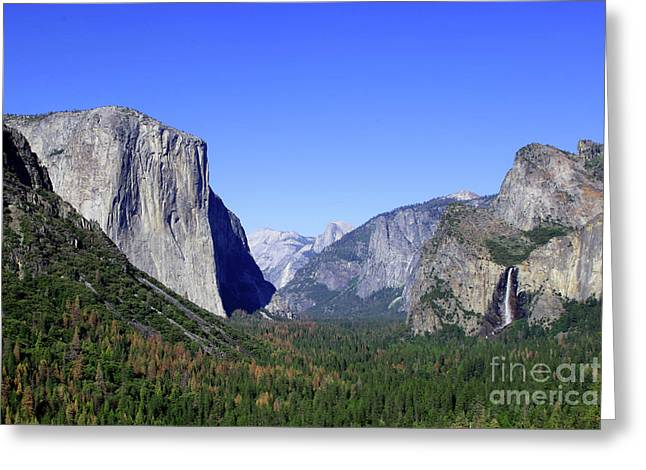 Greeting Card featuring the photograph El Capitan by Joseph G Holland