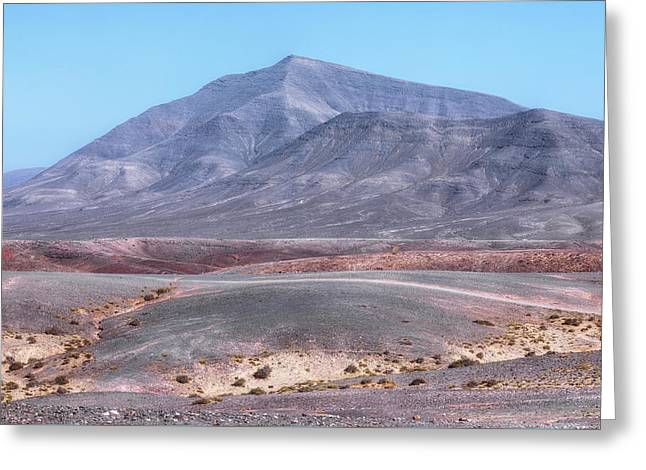 El Rubicon - Lanzarote Greeting Card