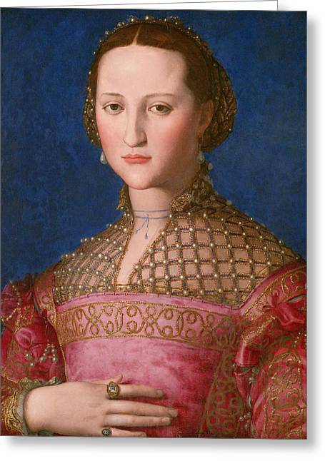 Eleonora Of Toledo Greeting Card