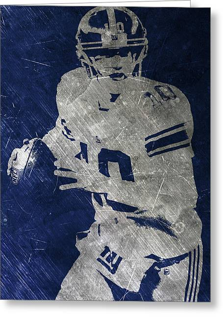 Eli Manning Giants Greeting Card