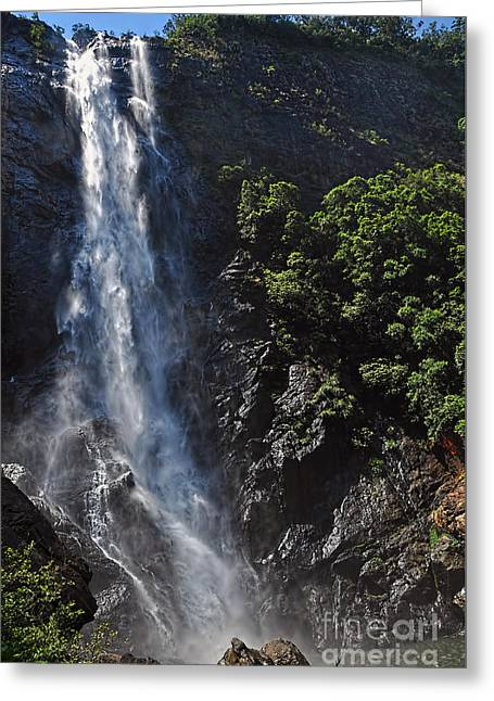 Ellenborough Falls Greeting Card