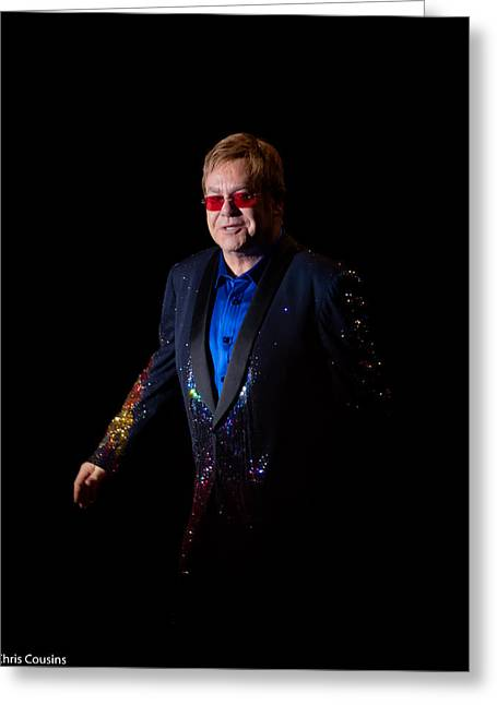 Elton John Greeting Card
