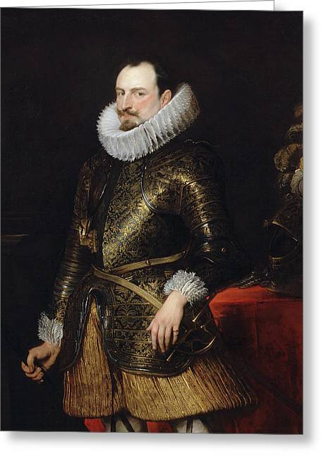 Emmanuel Philibert Of Savoy, Prince Of Oneglia Greeting Card